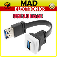 Wall Plate/Wallplate DIGITEK USB 3.0 Insert suit CLIPSAL HPM Plate