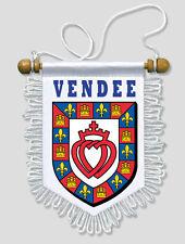 FANION VOITURE 13 X 15 CM VENDEE (85)