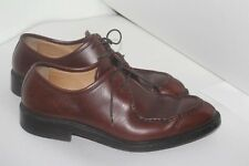 Brooks Brothers 1818 Golden Fleece oxfords men's shoes sz 9.5 made in Italy