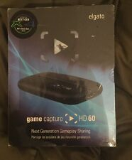 ELGATO Game Capture HD60 1080p 60 FPS RECORD HD Nuovo Di Zecca Sigillato