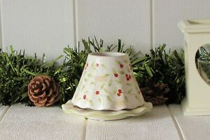Yankee Candle Winter Berries Shade & Plate Christmas