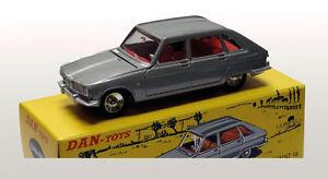 DAN TOYS Renault 16 Gris Métal, capot et hayon  Limited Ed.