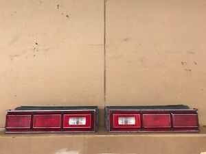 80 81 82 83 84 85 Chevy Citation Tail Light SET LEFT RIGHT 1980-1985 OEM NICE