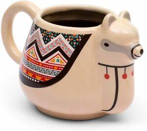 Llama Animal Mug Ceramic Tea Coffee Cup Cute Gift Novelty Girl Kids, GIFT BOX.