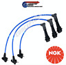 NGK Silicone HT Spark Plug Ignition Leads Set - For JZA80 Supra 2JZ-GE VVTi