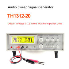 Audio Sweep Signal Generator Speaker Tester Frequency Meter 20hz 20khz 128vrms