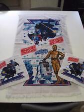 1980 Empire Strikes Back Star Wars Towel Set Darth Vader Boba Fett C3PO R2D2