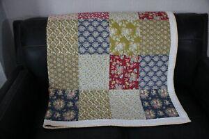 Handmade patchwork quilt Tilda Designer Fabrics