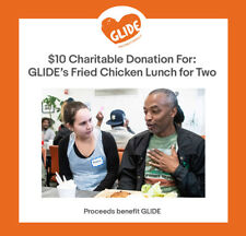 $10 Charitable Donation For: GLIDE's Fried Chicken Lunch for Two