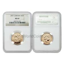 Great Britain 2007 Sovereign Gold NGC MS64 SKU#6438