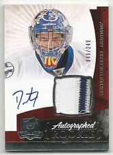 10-11 Dustin Tokarski The Cup Auto Rookie Card RC #147 Jersey Patch 049/249