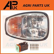 JCB Loadall Loader Teleporter RH Front Headlight Headlamp Head Light Lamp & Plug