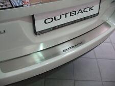 Rear Bumper Protector Steel Scuff Sill Plate fit SUBARU OUTBACK 2003-2009