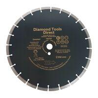 Diamanttrennscheibe 350 mm x 25,4 Diamantscheibe Beton  - 10 mm Segment USSV
