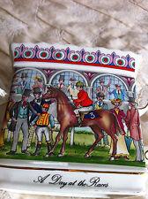 Antique England Sadler Tea Pot Day at the Races No Lid