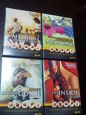 SET OF FOUR 4) WEBSTER'S MILLENNIUM MEDICAL LEARNING ADVENTURES~2003 MINT CD-ROM