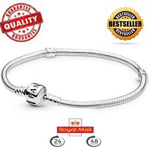 New Genuine Pandora Moments Snake Chain Bracelet 590702HV RRP £55