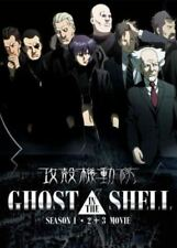 DVD Ghost In The Shell Season 1 - 2 + 3 Movie English Version Japan Anime