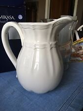 """NEW IN BOX MIKASA """"FRENCH COUNTRYSIDE"""" PITCHER--47 OZ NICE"""