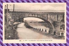 CPA 40 - DAX - El << Espléndida >> vista del puente de camino de hierro