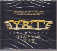Y & T / Earthquake - The A & M Years 1981-1995 ( 4-CD-Box-Set, NEU! OVP)