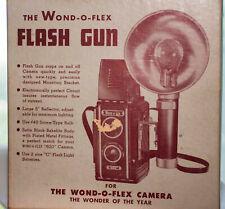 Vintage Wond-O-Flex Flash Gun Camera Flash