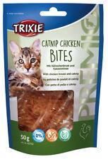 Cat Treats PREMIO Catnip Chicken Bites With Chicken Breast and Catnip 50g