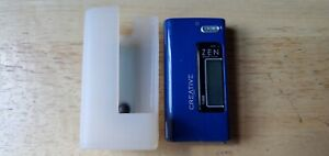 Creative Zen Nano Plus 1 GB Blue Tested Works Radio Holder