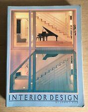 INTERIOR DESIGN By John F Pile 1988 Harry Abrams Illustration History Decorating