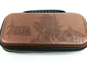 Nintendo Switch Leather Carry Case ~ Legend of Zelda: Breath of the Wild      VB