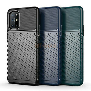 For OnePlus 8T 7T 8 9 Pro Shockproof Hybrid Armor Rugged Soft Rubber Case Cover