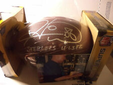 HINES WARD PITTSBURGH STEELERS SIGNED FOOTBALL INSCRIBED STEELERS FOR LIFE COA
