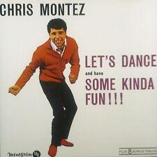 CD CHRIS MONTEZ let's dance and have some kinda fun,8 Bonus Tracks,Repertorio