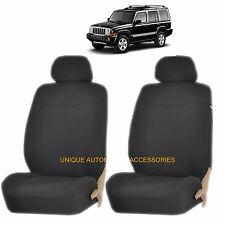 BLACK ELEGANCE AIRBAG COMPATIBLE LOWBACK SEAT COVERS for JEEP COMPASS PATRIOT
