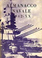 Marine - Almanacco Navale 1942-XX - Eds. Ministère de la Marine Italien - 1942