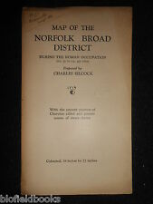 Charles Silcock Map - Broad District at the Time of the Roman Occupation - c1949