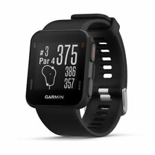 Garmin S10 Approach Reloj GPS - Negro - Pre Cargado - Únicamente