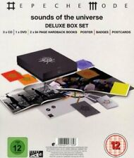 Depeche Mode Sounds of the Universe Giant Deluxe CD DVD Box Set Sealed