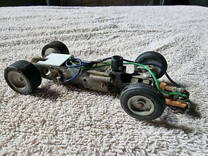 Vintage articulated Slot Car chassis
