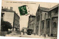CPA  Loire - Roanne, le Passage á niveau de la rue St-Etienne   (225449)