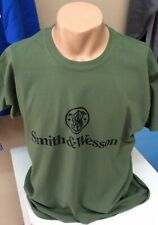 Smith & Wesson T-Shirt Any Size S-XL Military Green Gildan