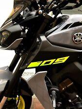 Yamaha Mt09 2015 2016 2017 2018 Moto Adesivi REPLICA Convogliatori Laterali
