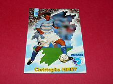 PANINI FOOTBALL CARD 98 1997-1998 C. KINET RC STRASBOURG MEINAU ALSACE RCS