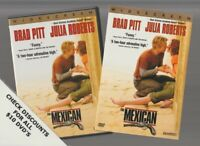 THE MEXICAN DVD Horror Movie LIKE NEW WITH INSERTS JULIA ROBERTS BRAD PITT