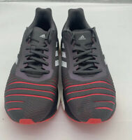 New Adidas Solar Drive M Mens Size 9.Gray Shock Red Running Shoes D97450 New