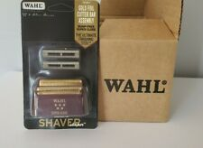"NEW WAHL 5 STAR ""SHAVER SHAPER"" REPLACEMENT GOLD FOIL & CUTTER BAR BLADES-785807"