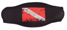 New listing Innovative Scuba Faded Dive Flag Mask Strap Wrapper Red/Black