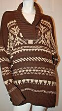 Lauren Jeans Co Ralph Lauren  Southwestern Design Sweater Sz L/XL Ret $229.00