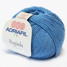 RUGIADA ADRIAFIL Merino Cotton Merinowolle Baumwolle Glitzereffekt 66 Wolle