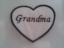 Valentines Day Custom Embroidered Name Patch Iron On Heart